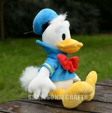 "DISNEY MICKEY MOUSE CLUBHOUSE PLUSH STUFFED TOYS DONALD DUCK 13"" SOFT DOLL"