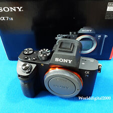 SONY ILCE-7SM2 A7s II  Mark II Only Body 4K Recording 13 Languages Selectable !