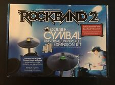 NEW Rock Band 2 Drums DOUBLE CYMBAL Expansion Kit Set Wii XBox 360 PS2 PS3 3 pro
