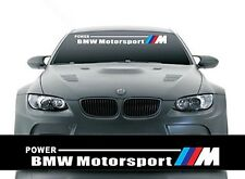 Front Windshield Banner Decal Vinyl Car Stickers for BMW Motorsports Accessories