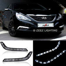 Exact Fit High Power 9-LED Daytime Running Light DRL Fog Lamp Kit Sonata 11-14