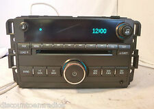 2006-2009 Buick Lucerne AM FM Radio 6 Disc Cd Changer  15797876