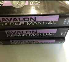 2011 Toyota AVALON Service Repair Shop Manual Set FACTORY NEW 3 VOLUME SET 2011