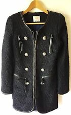 GALLERY® Women's Trench Coat Jacket Made in Korea Sz. Small