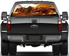 Guild War Game  Rear Window Graphic Decal for Truck Van Car