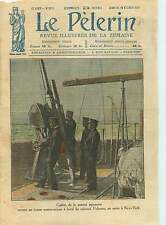 Cadet Marine Japon Imperial Japanese Navy Battleship Gun Japan 1921 ILLUSTRATION