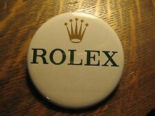 Rolex Pocket Mirror - Rolex Crown Logo Swiss Watch Advertisement Lipstick Mirror