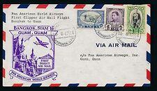 82207) USA, PAA Clipper FF Bangkok Thailand - Guam 30.6.47