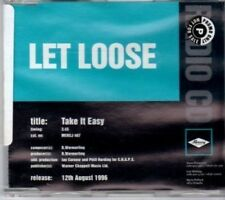 (BU921) Let Loose, Take It Easy - 1996 DJ CD