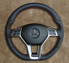 AMG-Package ◆ Mercedes-Benz ◆ Steering wheel ◆ Red-color Stitching