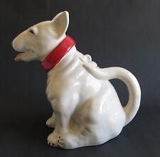 Bull Terrier Teapot White Dog Ceramic Teapot Boxed