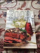 Family Food (A McCall Publication) 1961 Basic Methods and Foods (140 Pages) Wow