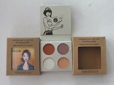 2 STILA COMPLETE DAY TO NIGHT TALKING EYESHADOW PALETTE - FULL SIZE - NEW