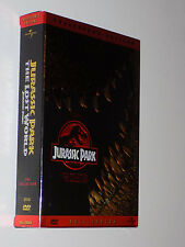 Jurassic Park/The Lost World (DVD, 2000, 2-Disc Set, Pan  Scan)