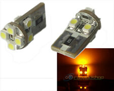 Amber/yellow/orange Canbus Error Free 501/w5w/t10 / 194 8 bombillas LED SMD