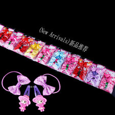 Wholesale 40pcs Mixed Lot Baby Kids Girls Hair Pins Clips Bow Elastic HairBands