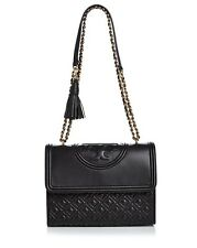 NWT IN PLASTIC TORY BURCH FLEMING NEW RELEASE BLACK