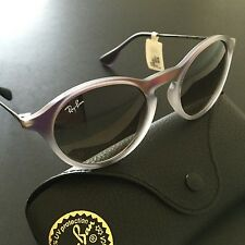 Ray-Ban RB4243 6223/11 Violet Versatile Gunmetal Round Sunglasses Youth Italy