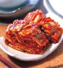 "김치 korean Hot spicy food napa cabbage ""KIMCHI"" 1/2 gallon bag (about 1 Kg)"