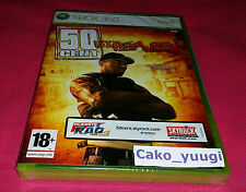 50 CENT BLOOD ON THE SAND XBOX 360 NEUF SOUS BLISTER VERSION 100% FRANCAISE