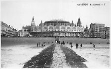 BR11666 ostende le Kursaal  belgium real photo