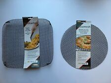 QUICKA CHIP & PIZZA MESH OVEN TRAY BASKET FOR CRISPER CHIPS & PIZZA BASES  - 2PK