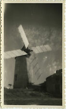 PHOTO ANCIENNE - VINTAGE SNAPSHOT - PHOTO RATÉE ERREUR MOULIN À VENT - WINDMILL