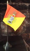 Royal Armoured Corps Desk Top Flag Tank Army Military soldier veteran Regiment