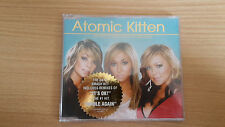Atomic Kitten The Tide is High Get the Feeling CD Single Made in Australia