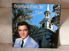 ELVIS PRESLEY~HOW GREAT THOU ART~MONO DYNAGROOVE~RCA LMP-3758~RARE~ ~ LP