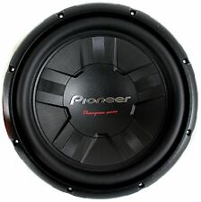 Pioneer 12 Inch 1400 Watt Subwoofer Car Audio Power 4-Ohm SVC Sub | TS-W311S4