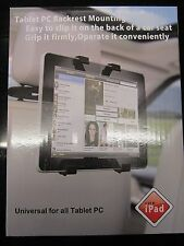 UNIVERSAL GRIP QUICK RELEASE CAR HEADREST MOUNT HOLDER FOR PORTABLE DVD PLAYER