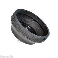 Gegenlichtblende Gummi 40,5 mm Standard faltbar Lens Hood Sonnenblende