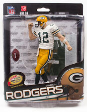 "Mcfarlane NFL 6"" Series 34 Figure Aaron Rodgers Green Bay Packers"