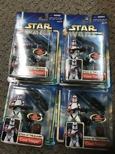 Star Wars  Attack of the Clone Trooper Cannon NOC Lot Army Builder Figure