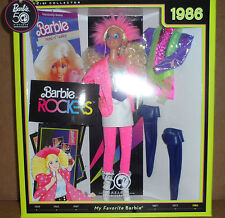 2008 MY FAVORITE **1986 ROCKER BARBIE REPRODUCTION ** NRFB