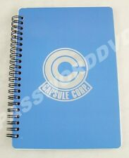 ** DRAGON BALL Z CAPSULE CORP NOTEBOOK GENUINE LICENSED PRODUCT **