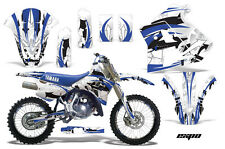 YAMAHA WR 250Z Graphic Kit AMR Racing # Plates Decal Sticker Part 91-93 EXBW