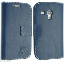 FOR SAMSUNG GALAXY S3 MINI I8190 i8200 LEATHER CASE COVER FLIP WALLET POUCH + SP