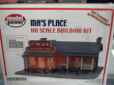 Model Power HO Structure Kit - Ma's Place Home Cooking #490-190
