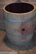 3/4 wine barrel planter