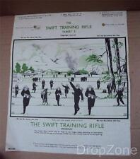 WWII British Military Army / RAF Swift Training Rifle Target Sheet