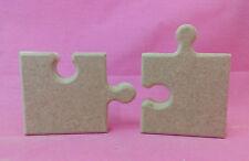 18 mm thick MDF MINI adesione non associata PUZZLE / PUZZLE PIECE Craft vuoto