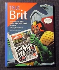 2004 TRUE BRIT A Celebration of the Great Comic Book Artists of the UK SC VF 1st