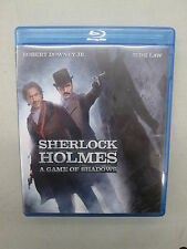 Sherlock Holmes: A Game of Shadows (Blu-ray Only, 2012), Used, Disc is Good