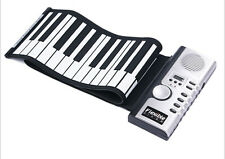 61Keys USB Silicon Flexible Roll Up Electronic Piano MIDI Keyboard Musical Organ