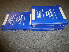 2002 Jeep Grand Cherokee Shop Service Repair Manual Set Sport Laredo Limited