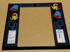 "PACMAN cabaret ""mini"" glass monitor bezel screen printed"