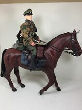 "1/6 DRAGON GERMAN 22ND SS CAVALRY DIV MAJOR ""MARIA THERESIA""+HORSE BBI DID WW2"