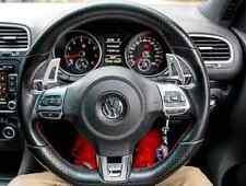 VW Golf MK6 MK5 Scirocco Polo Silver Aluminum Metal DSG Paddle Shifter R GTI R32